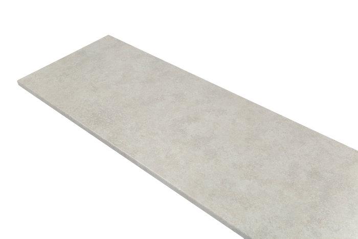Bänkskiva ljus betong