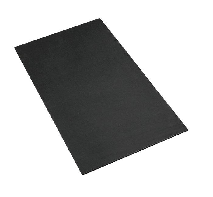 MDF plade 12 mm, sort