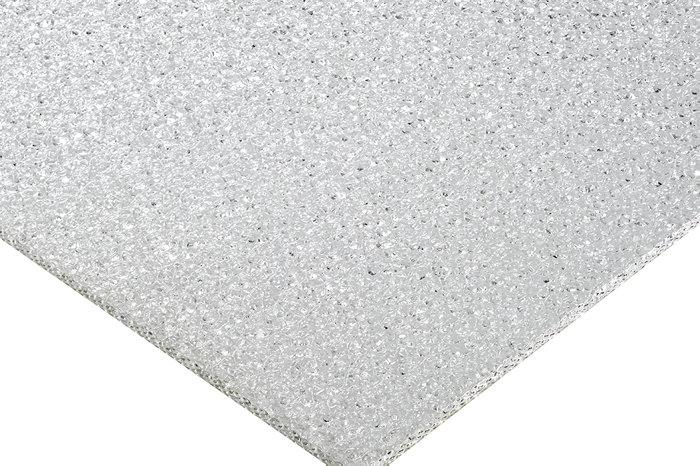 Plexiglasplade med struktur, 3 mm, 750 x 1000 mm