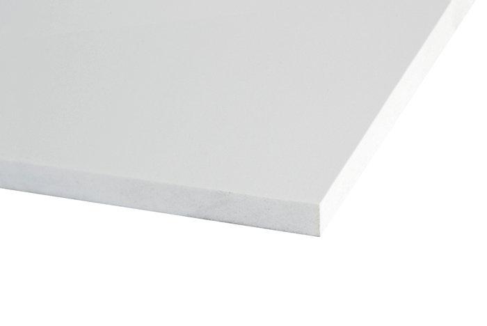 Foamlux PVC skumplade 10 mm, 1000 x 750 mm