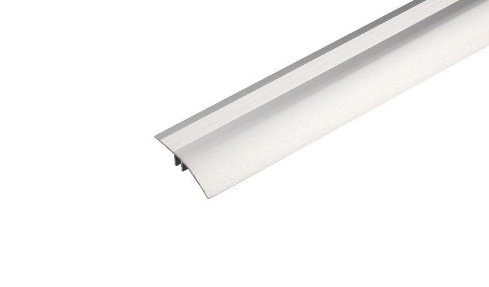 Gulvprofil alu - 2 x 40 mm x 1,8 m
