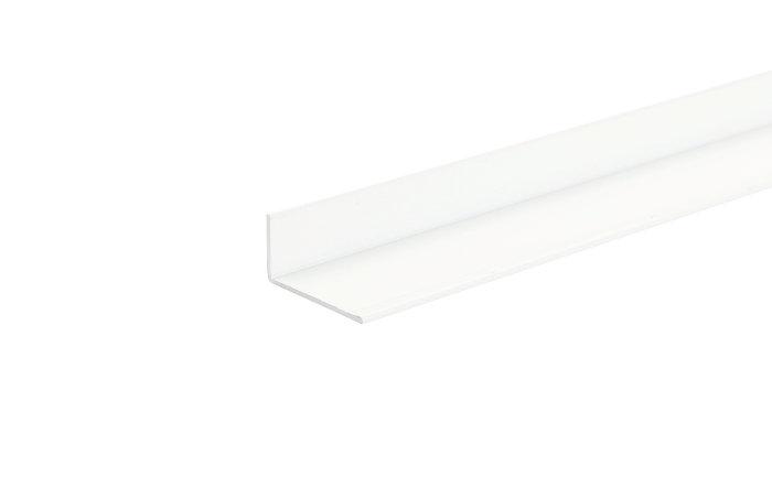 Listeprofil hvid - 10 x 15 mm x 1 m