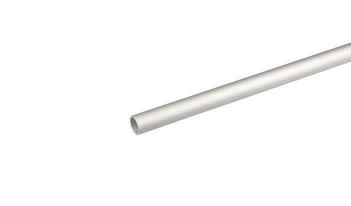 Rørprofil alu - 1 x 10 mm x 1 m