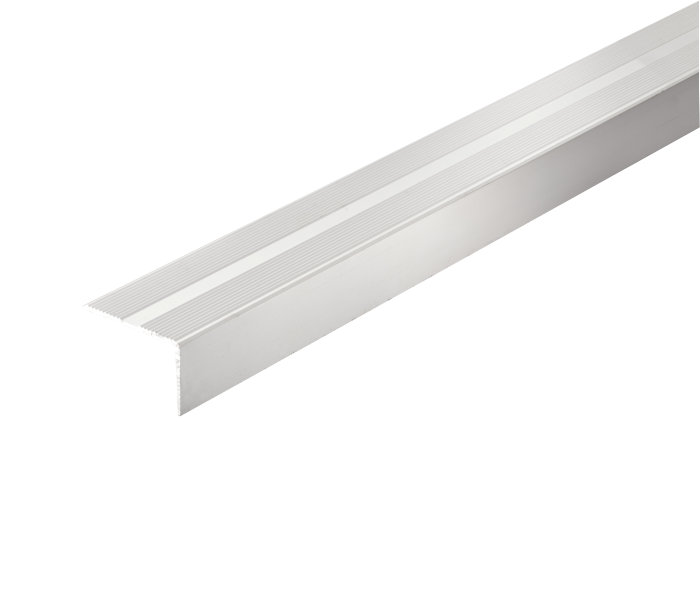 Trappeprofil alu - 26 x 42 mm x 0,9 m