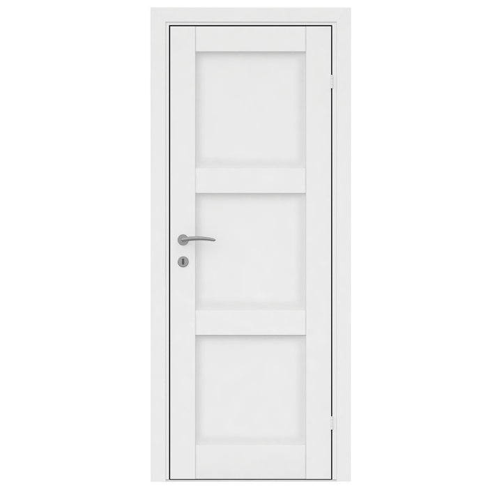 Innerdør Fashion 3 massiv hvit - 82,6 cm