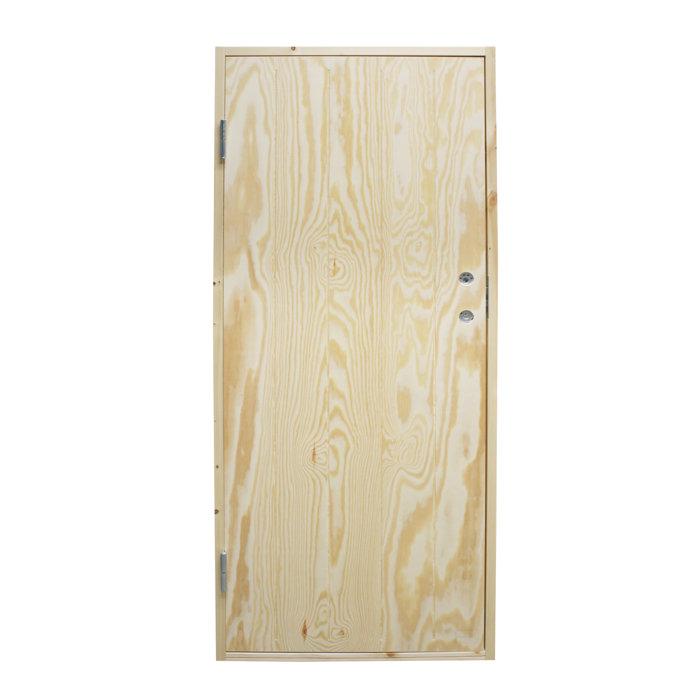 Varmförrådsdörr Höger 9x20 cm