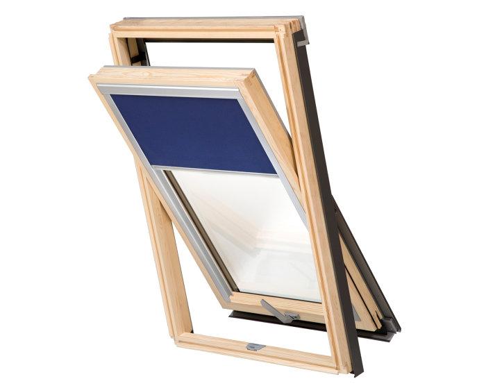 Rullegardin mørklægning til tagvindue 78 x 92 cm