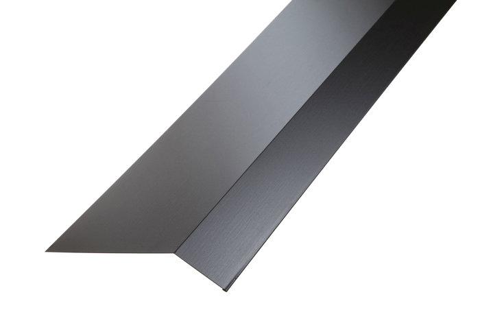 Takfotsblekk 2000 mm svart
