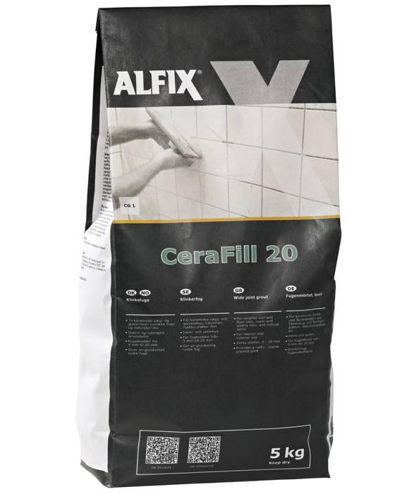 Alfix CeraFill 20 klinkefuge - 5 kg
