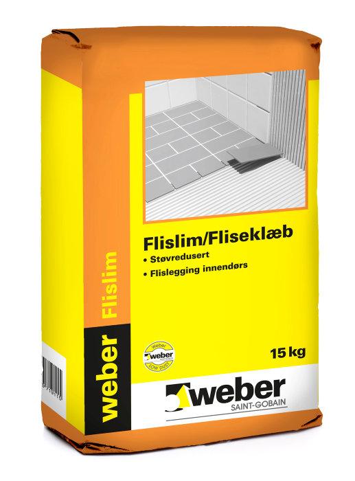 Weber fliseklæb - 15 kg