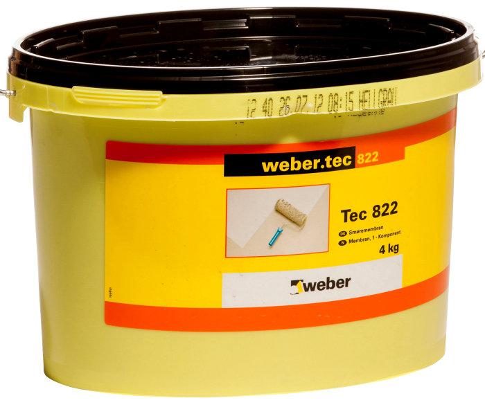 Weber tec 822 membran 4kg