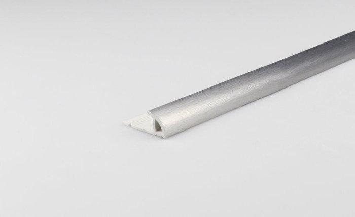 Avslutningsprofil grå 5mm