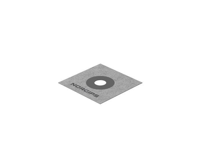 Rörmanschett 100 x 100 mm