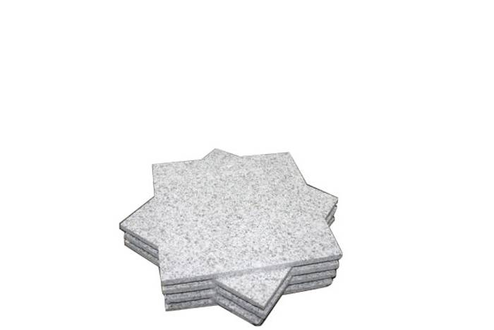Trappklinker Granit Grå