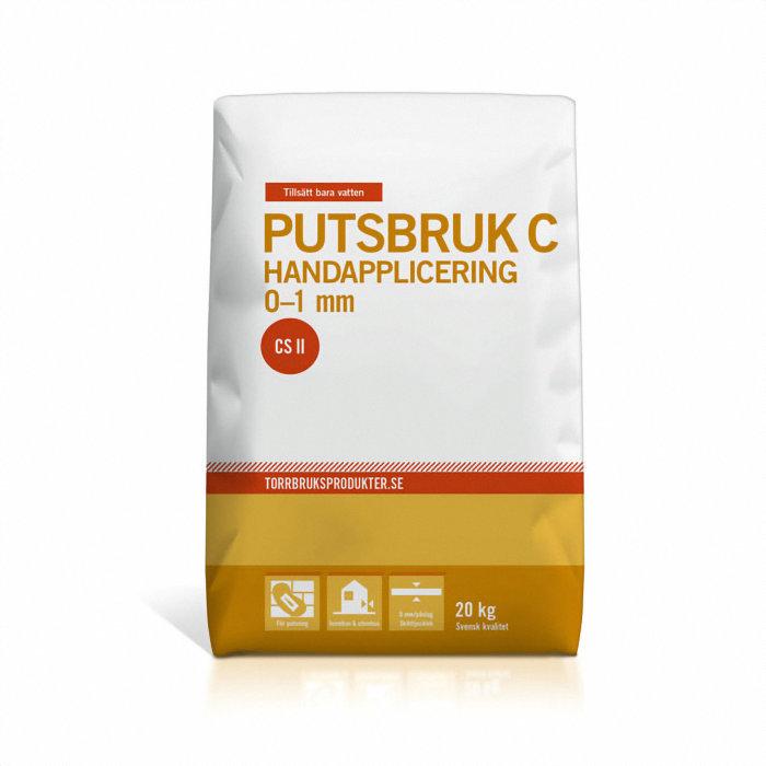 Putsbruk C / CS II Hand