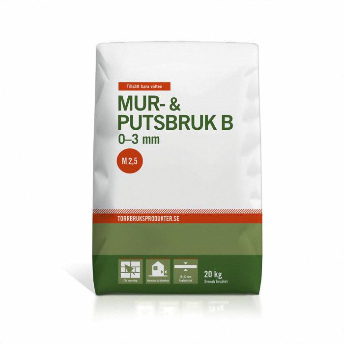 Mur- & putsbruk B 20 kg