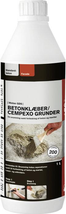 Weber Cempexo betonklæber - 1 liter
