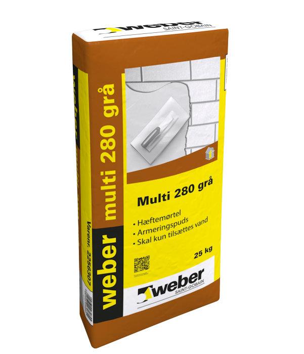 Weber Multi 280 hæftemørtel - 25 kg