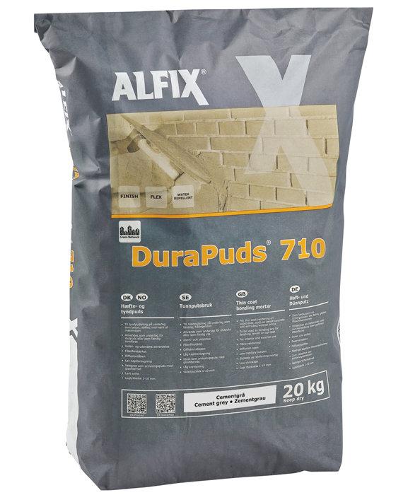Alfix Durapuds 710 - cementgrå - 20 kg