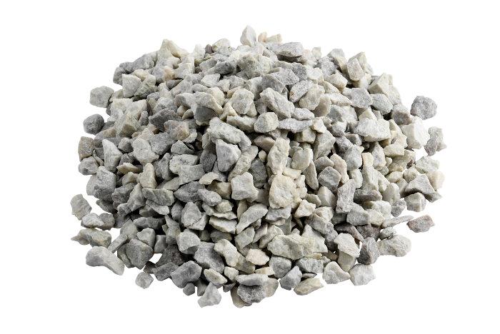 Granitskærver hvid lysit 11/16 mm - Safestone