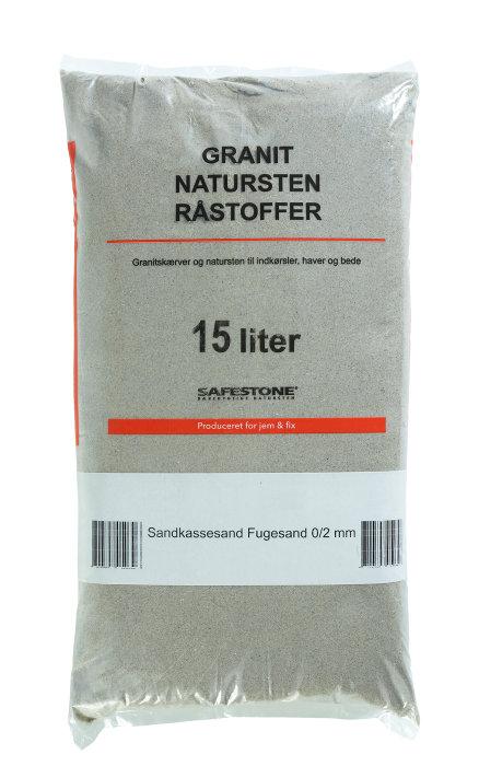 Safestone strandsand 15 liter - 0/2 mm