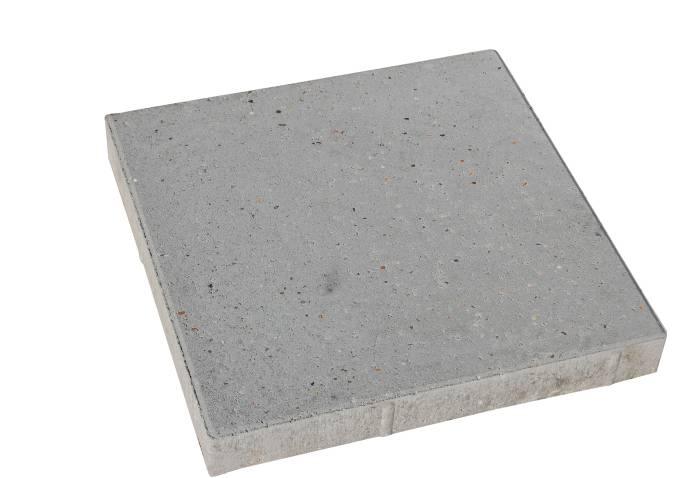 Haveflise standard grå 40 x 40 x 5 cm