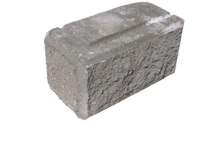 Hjørnesten Lock-Block og Lock-Block XL grå