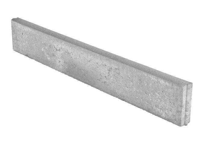 Kantsten grå betong