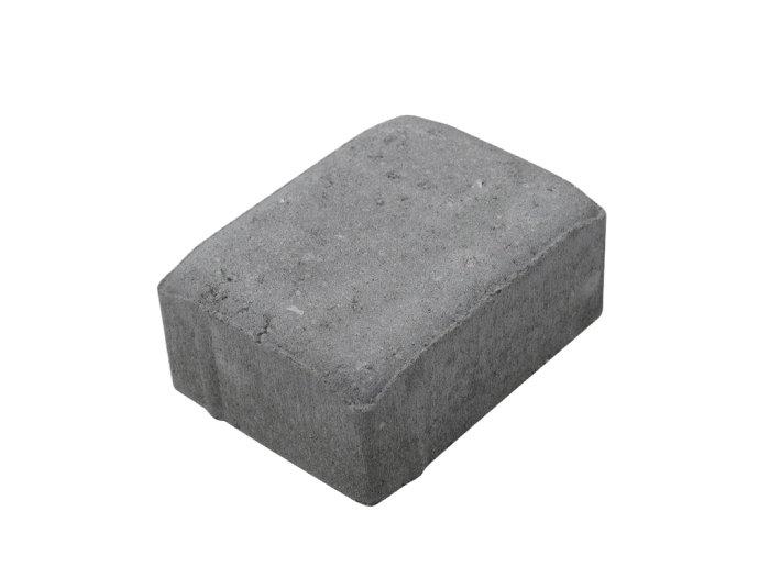 Hjertingsten 1/2 grå 14 x 10,5 x 7 cm