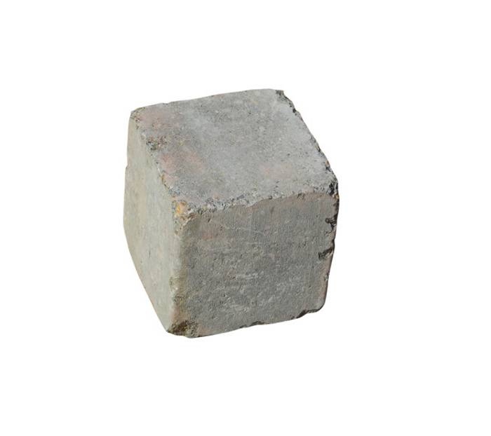 Multikant 2/3 brud gråmix 14 x 14 x 14 cm