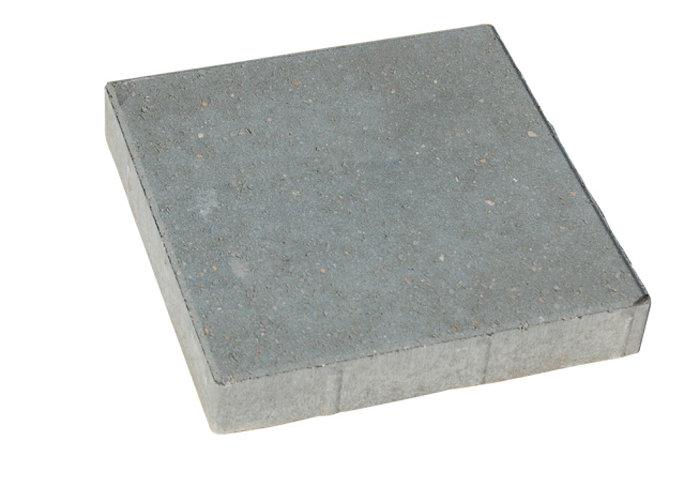 Haveflise standard grå 30 x 30 x 8 cm