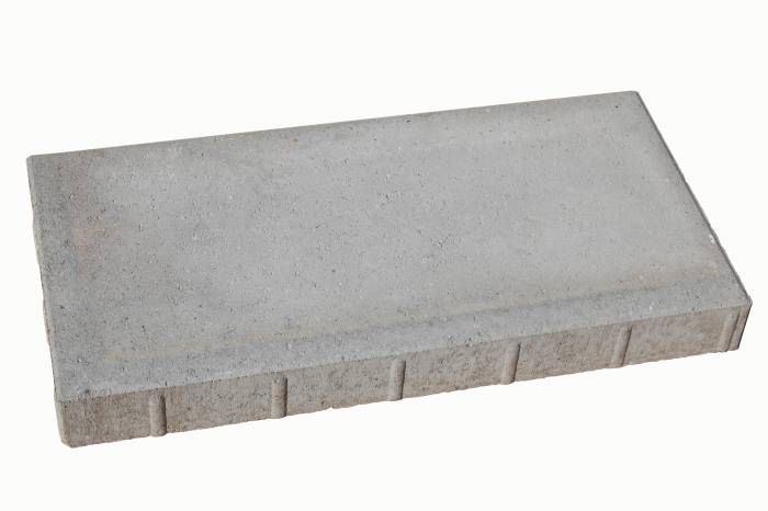 Haveflise standard grå 30 x 60 x 8 cm