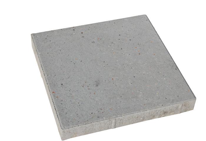 Haveflise standard grå 40 x 40 x 8 cm
