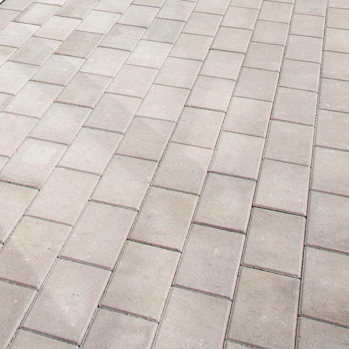 Markstensplatta grå halv 40x20x5 cm