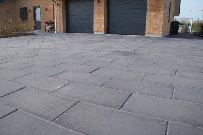 Nordic-Line Granit haveflise koks 30 x 60 x 8 cm