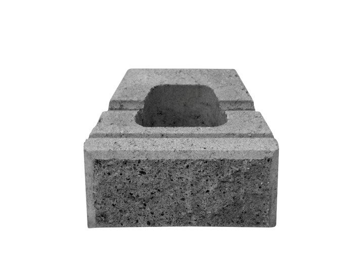 Lock-Block XL grå 30 x 26 x 15 cm