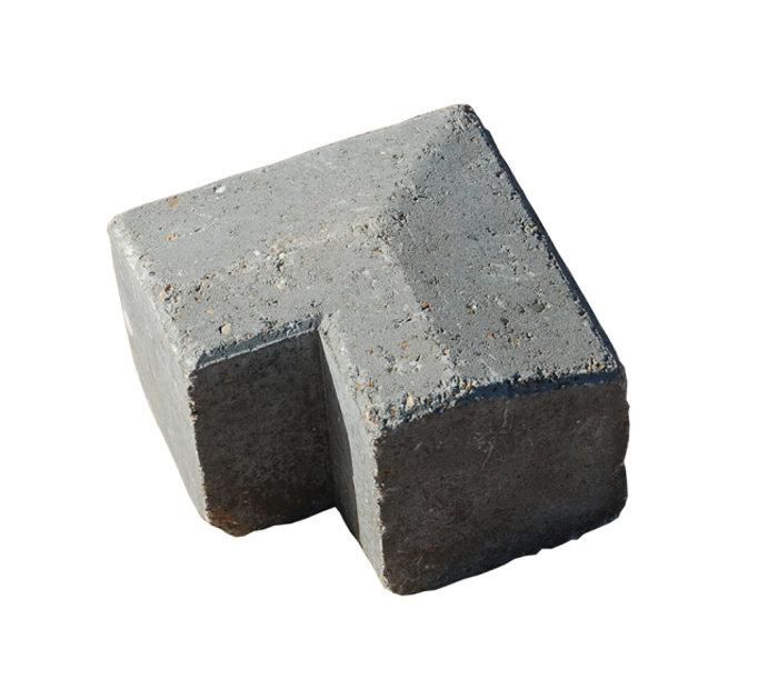 Multikant brud TP15/21 udvendigt hjørne grå