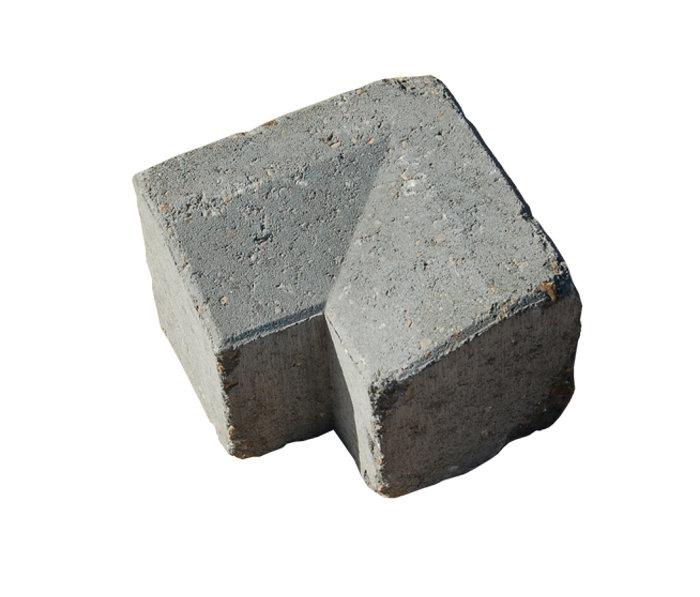 Multikant brud TP15/21 indvendigt hjørne grå
