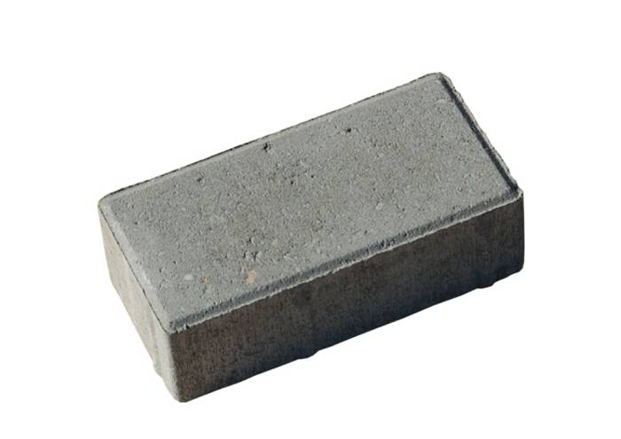 Slotssten standard grå 10 x 20 x 6 cm