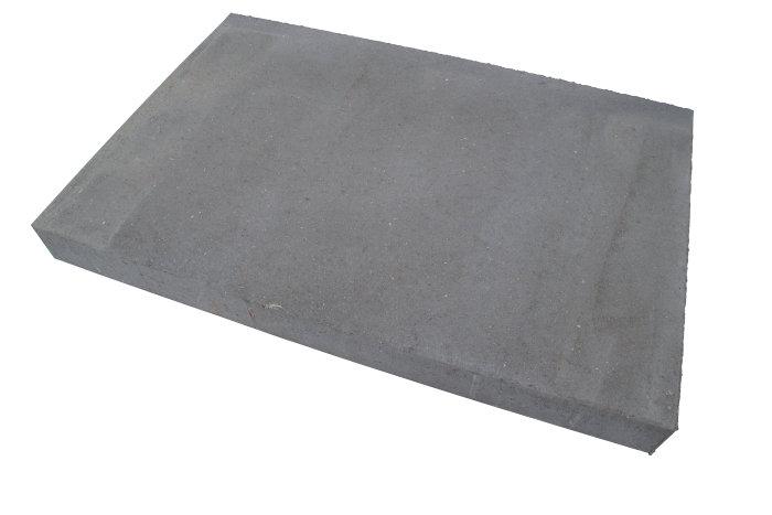 Haveflise standard grå 60 x 90 x 8 cm