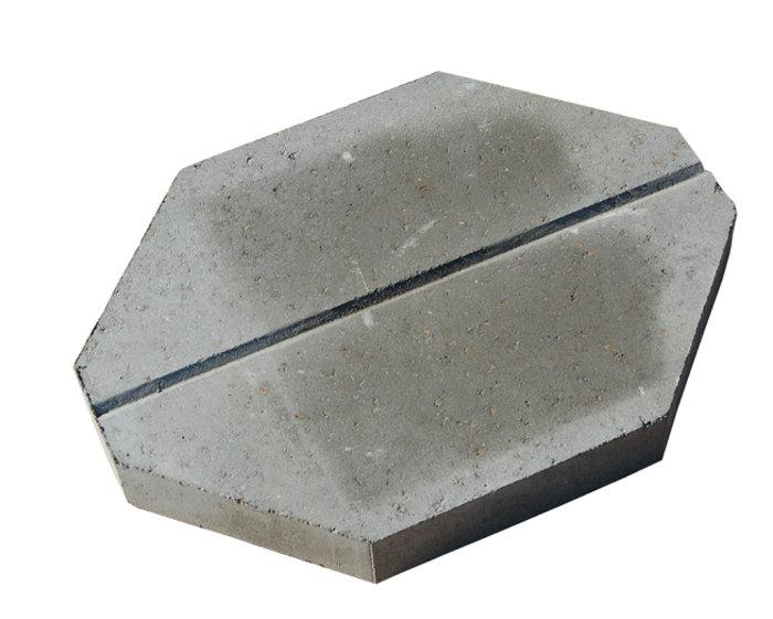 Brudplantesten/Knækflisen grå