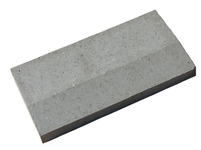 Plænekantsten grå 4,5/6 x 25 x 50 cm