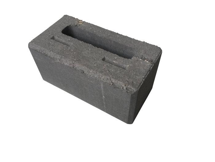 Nordic Block hjørne glat koks 30 x 15 x 15 cm