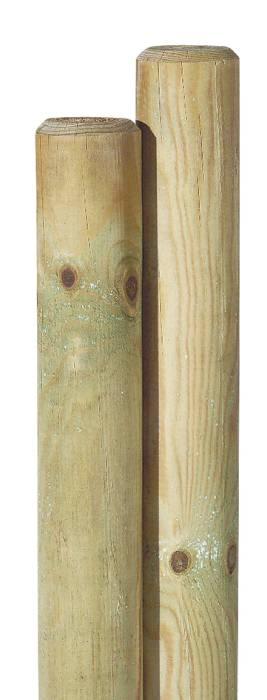 Superbly Runde pæle Ø 7 x 200 cm | Køb alt til haven i jem & fix KG78
