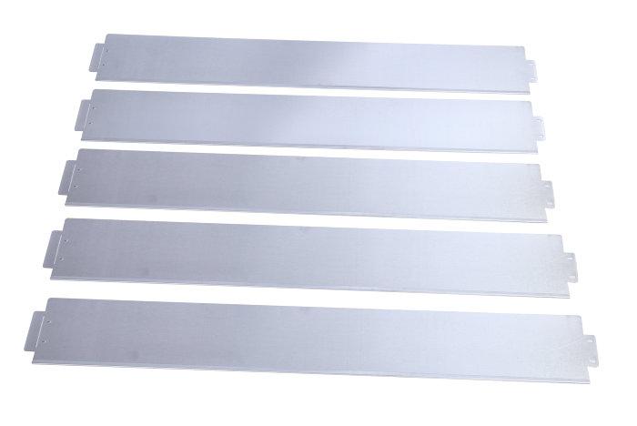 Bedafgrænsning galvaniseret L100 x H15 cm