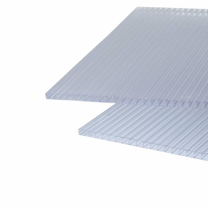 Termotagplade klar 2-lags 98 x 250 cm