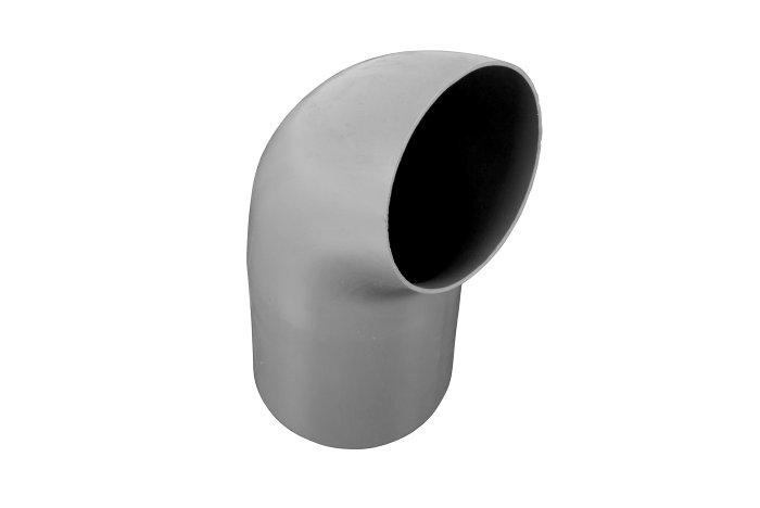 Udkaster grå plast, Ø75 mm