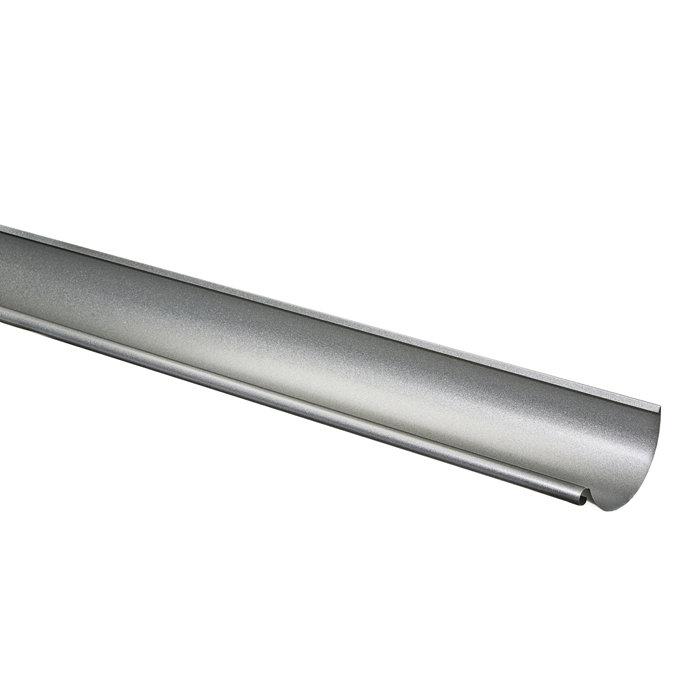 Ståltagrende med Silver metallic - 3 m