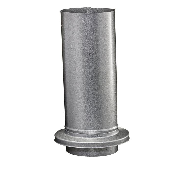 Skydestykke med krave stål