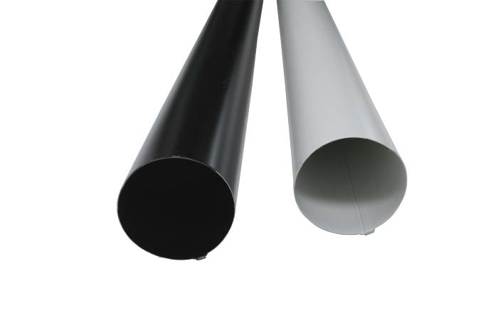 Stuprör 90 x 4000 mm Svart